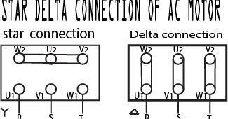 Star-delta motor starter explained in details in 2020