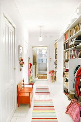 the boo and the boy: Family front entrances/hallways/mudrooms