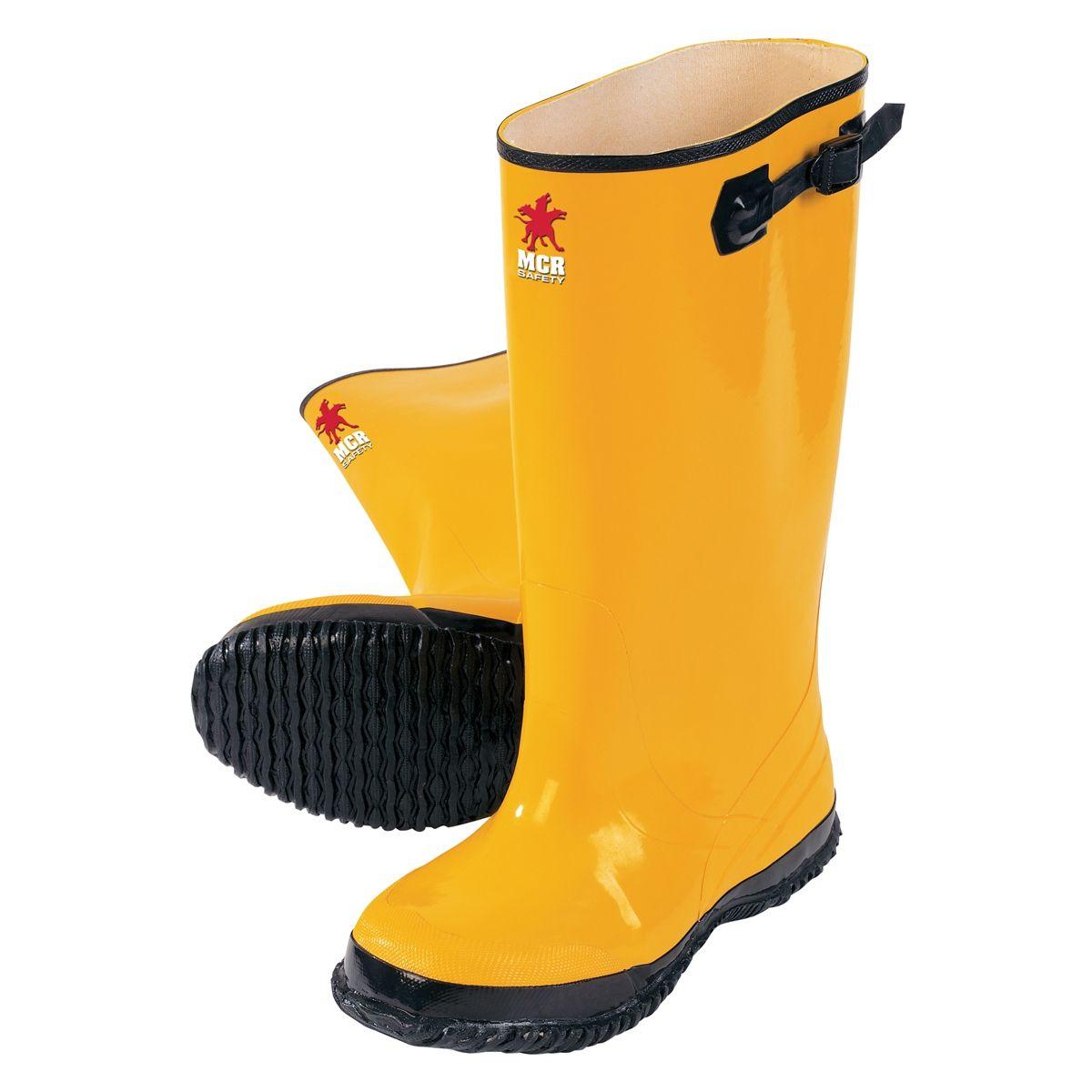 b27ab96acff River City BYR100 Rubber Slush Boots - Yellow   Workwear   Boots ...