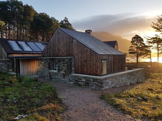 Haysom Ward Miller's Lochside House Named RIBA House of the Year 2018 is part of Lochside House By Haysom Ward Miller Dwell Com - Haysom Ward Miller's Lochside House in the West Highlands has been named RIBA House of the Year 2018