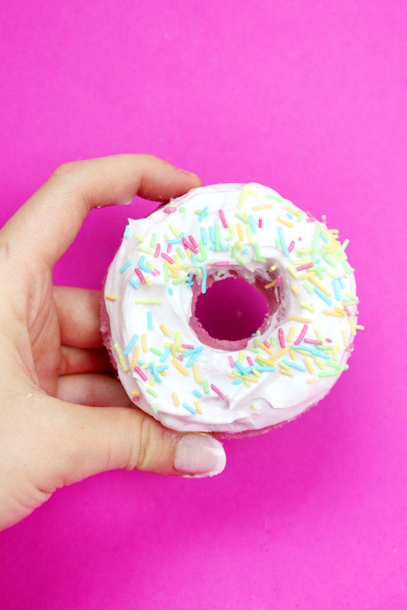 DIY Donut Badebomben selber machen – Schnelles DIY Geschenk ...