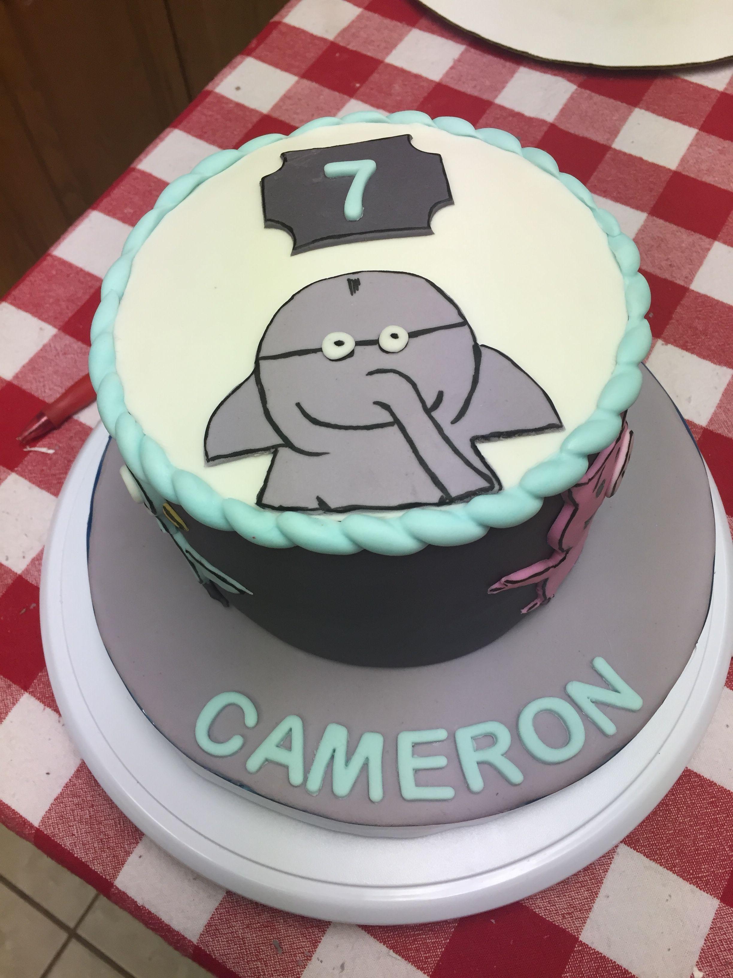 Elephant and piggy cake elephant cakes cake piggy cake