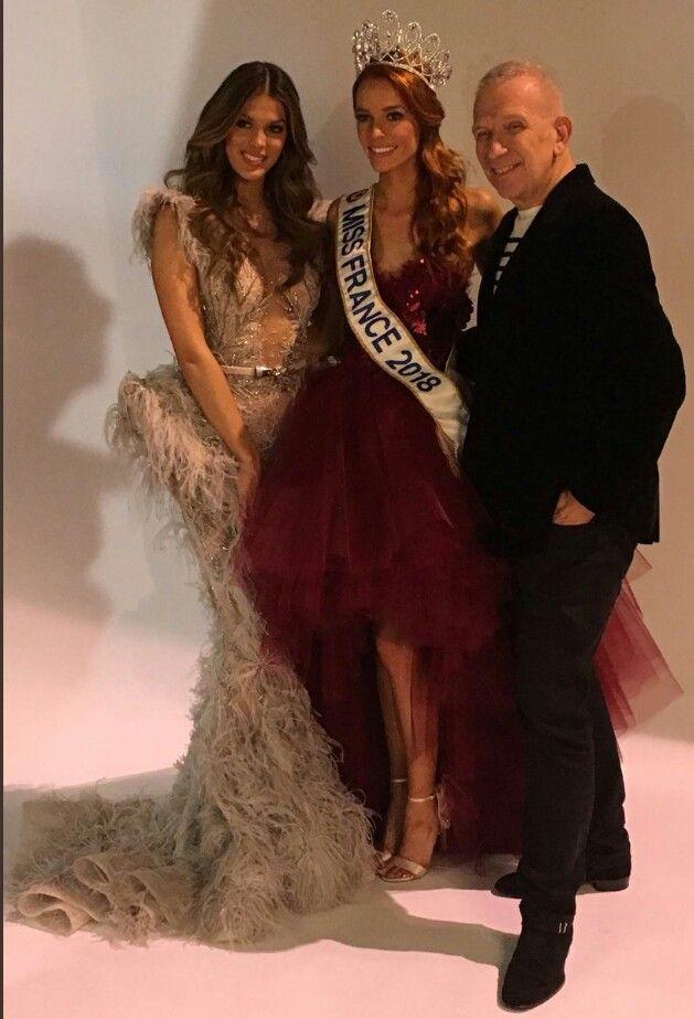 Notre Nouvelle Miss France 2018 Mava Coucke En Compagnie