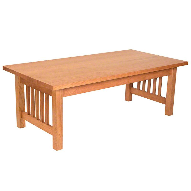 American Made Mission Style Coffee Table Handmade In Vermont Of