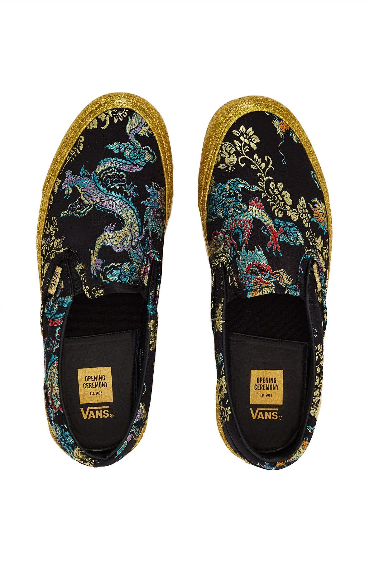 7eef06a60b0 Opening Ceremony Vans For Good Luck OG Classic Slip-On LX Sneaker ...