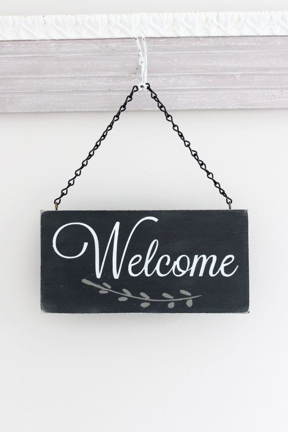 Perfect Welcome Sign, Hanging Door Sign, Custom Sign, Wall Art, Wood Sign, Office  Decor Sign, Business Sign
