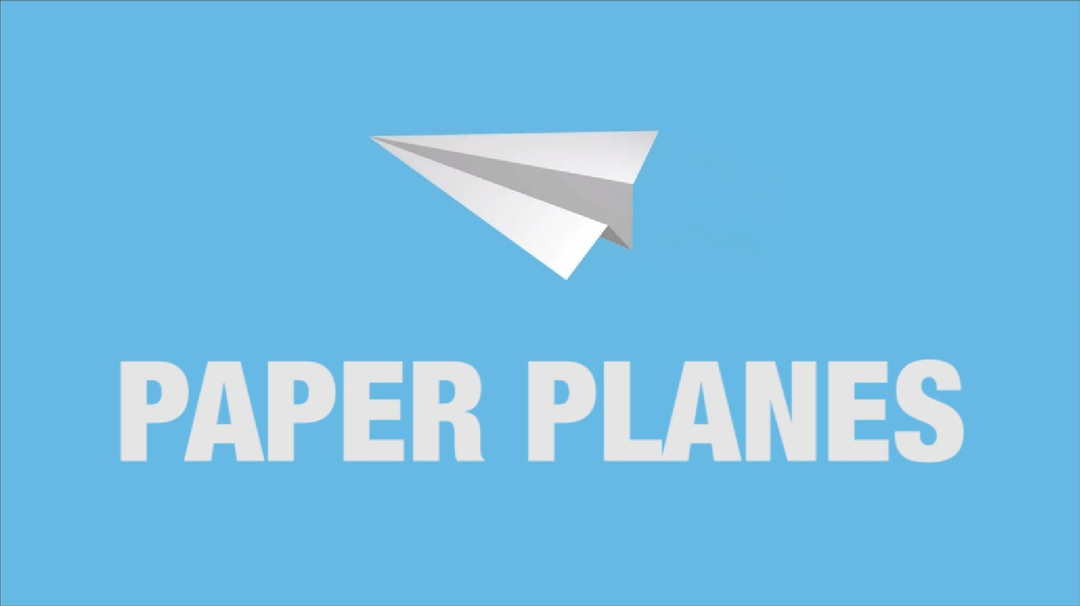 Create and animate your own Paper Airplanes in After Effects