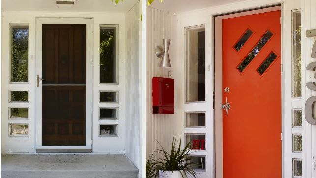 Trend Spotting With Bhg Front Doors Like The Bright Colored Door