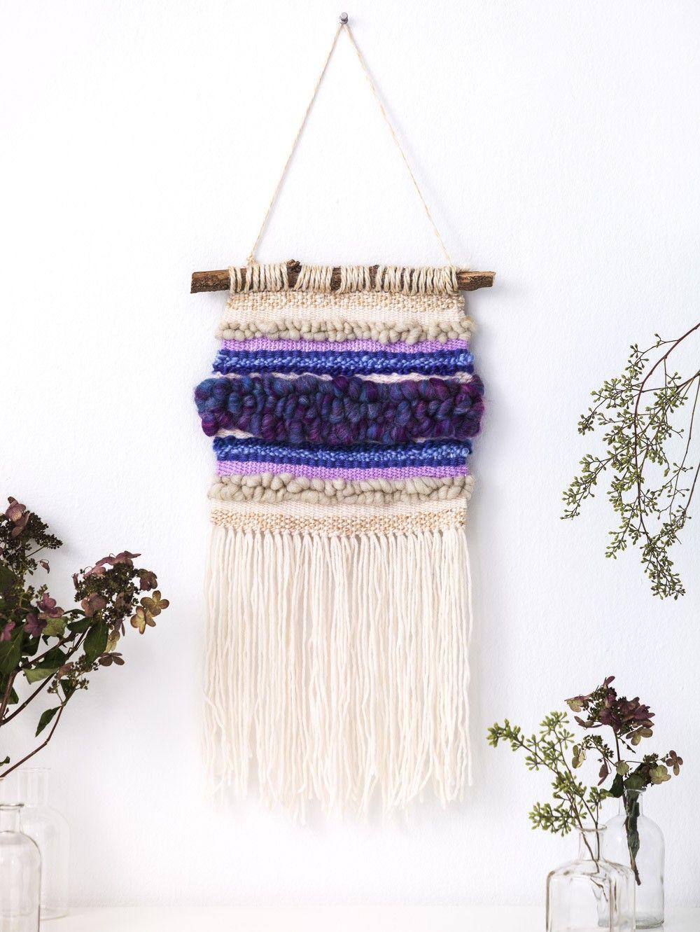 Midwest Maize Wall Hanging (Crafts) - Patterns - Lion Brand Yarn ...