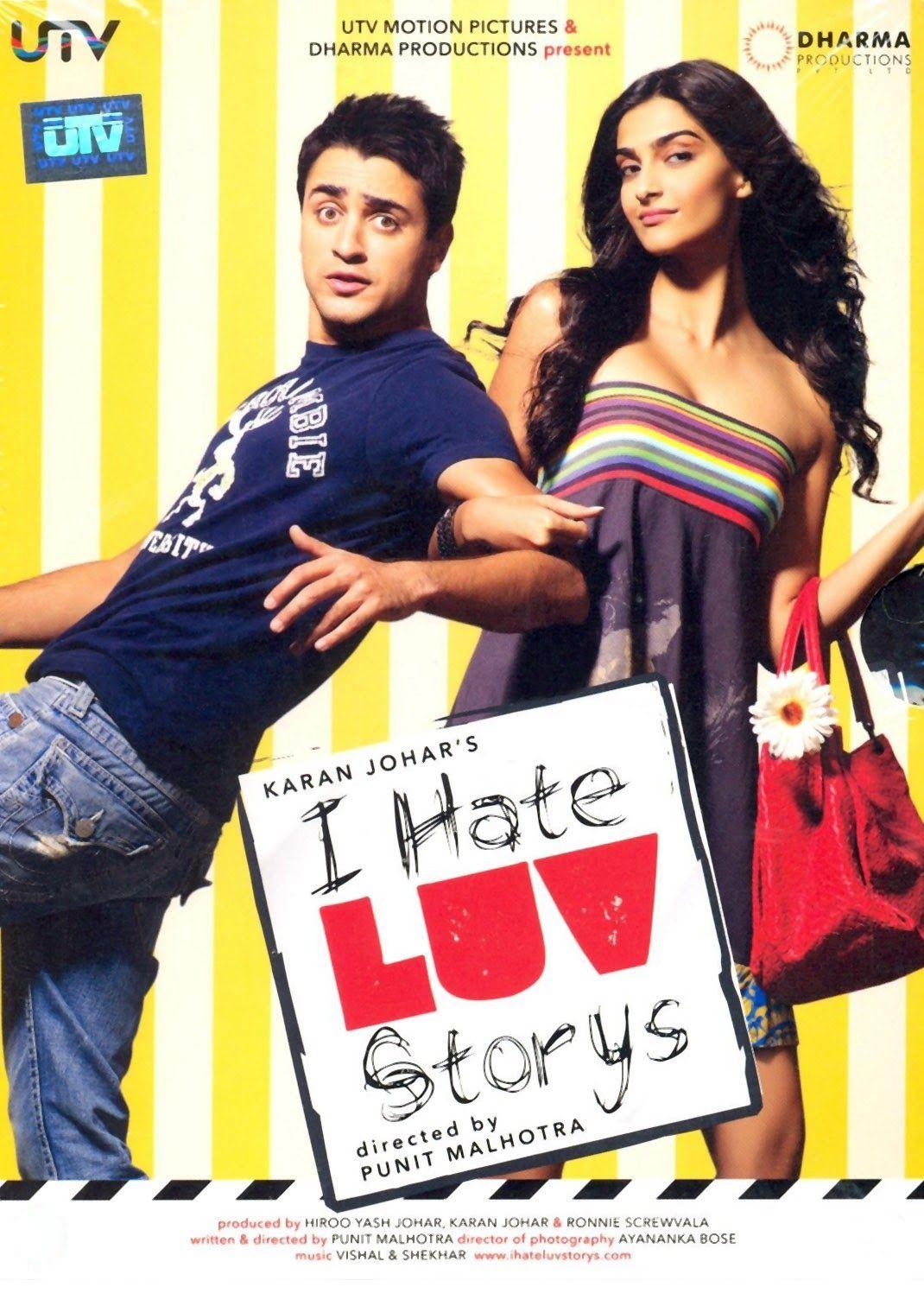 i hate luv storys (hindi movie) | hindi movie | pinterest | movie