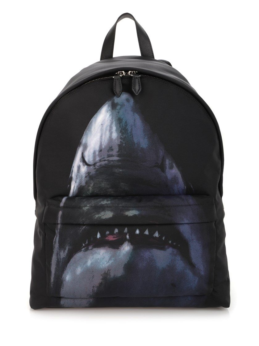 cb0c605c77d4 GIVENCHY Shark Printed Backpack.  givenchy  bags  leather  backpacks ...