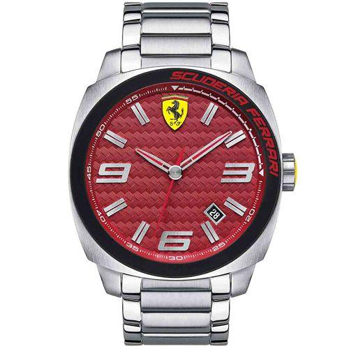 52bf893dd35 Relógio Scuderia Ferrari Masculino Aço - 830167