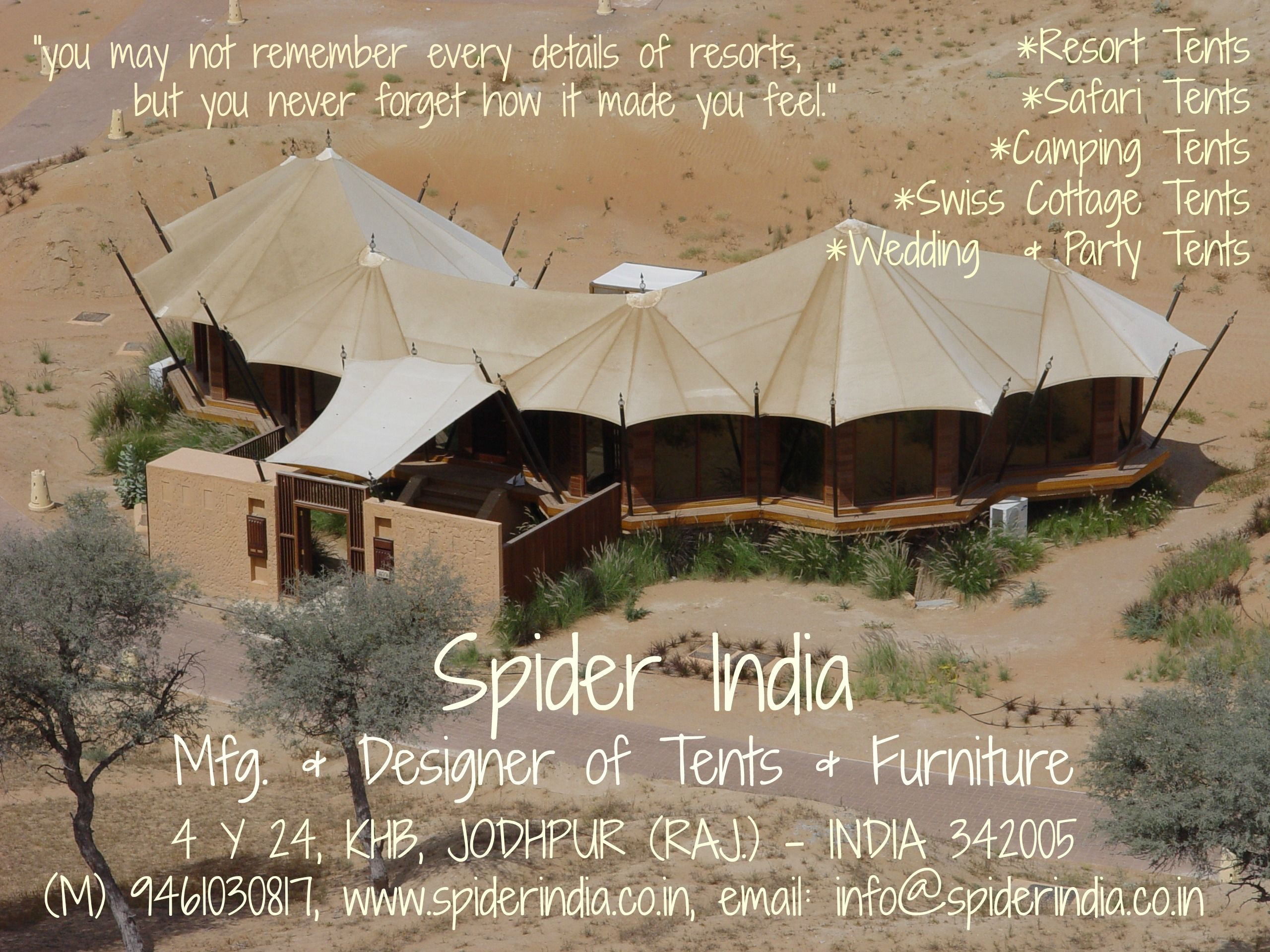 Manufacturer u0026 Exporters of Luxury c&ing tent in Jodhpur India. Spider India offering fine quality Luxury c&ing tent at Affordable Price. & Luxury camping tent Camping tent swiss cottage tent resort tent ...