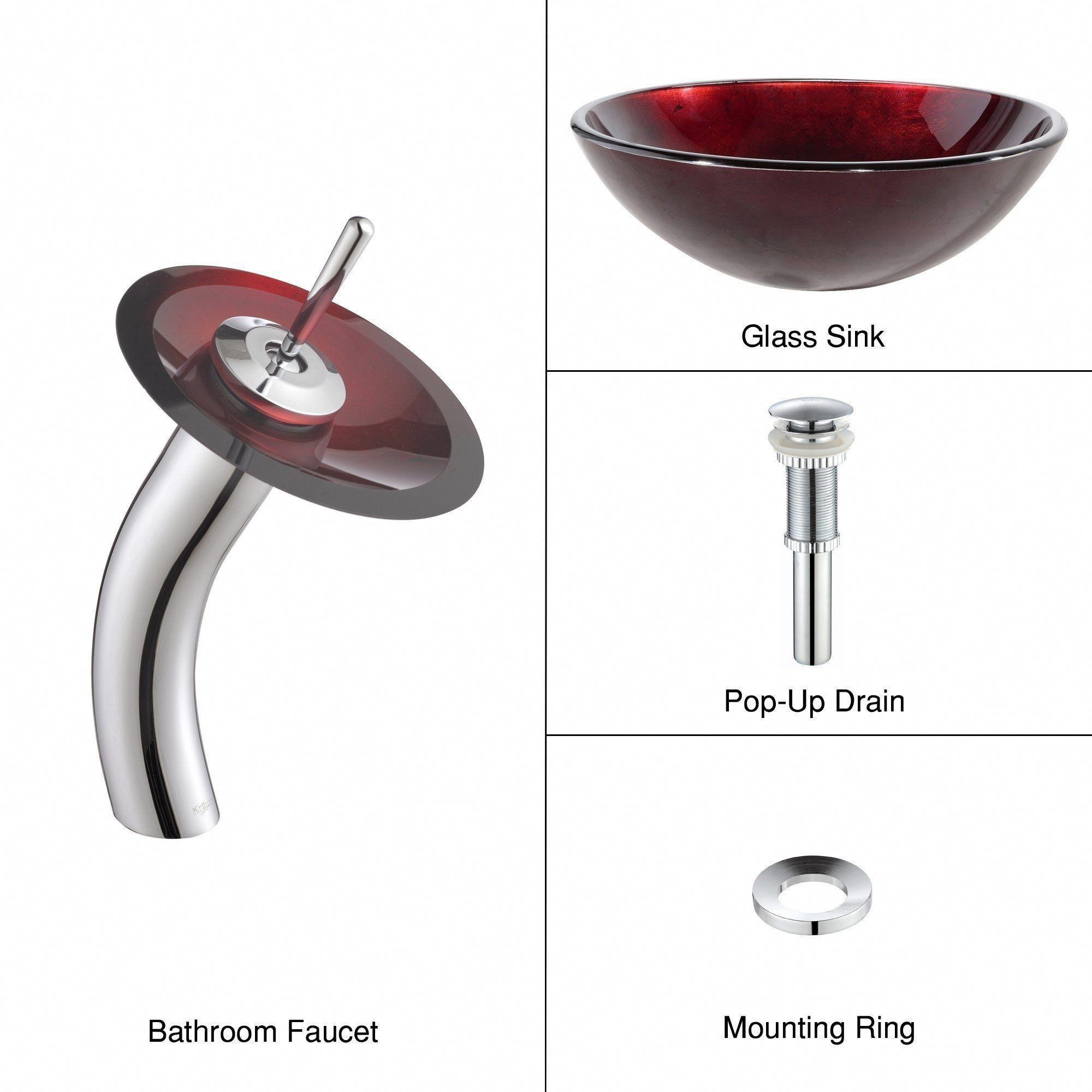 My Bathroom In Slow Mode Glass Vessel Sinks Waterfall Faucet Glass Vessel
