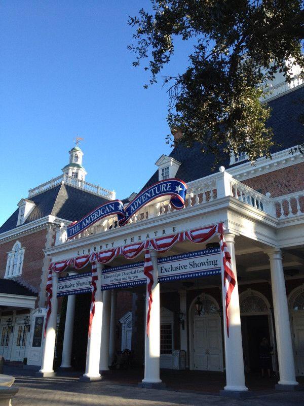 American Adventure Pavilion At Epcot In Walt Disney World Disney World Shows Disney World Parks Disney World Rides