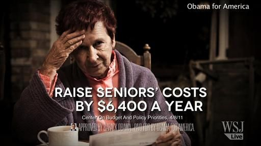 """Review & Outlook: $6,400 Myth - WSJ.com >> """"One of President Obama's regular attacks on Paul Ryan's Medicare reform is that it would force seniors to pay $6,400 a year more for health care. But merely because he keeps repeating this doesn't mean it's in the same area code of accurate."""""""