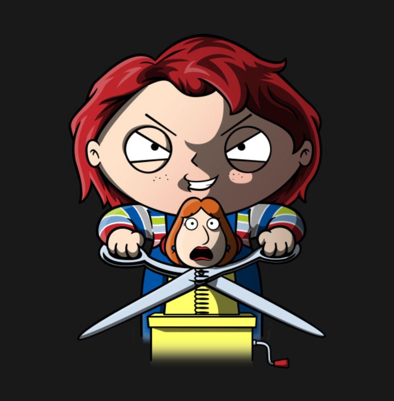 Chucky Griffin, Family Guy Peliculas de terror, Padre de