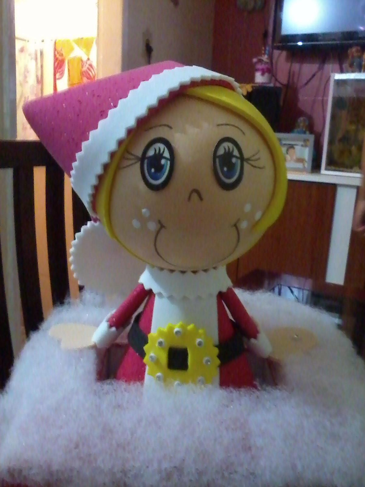 Fofucha Mamãe Noel