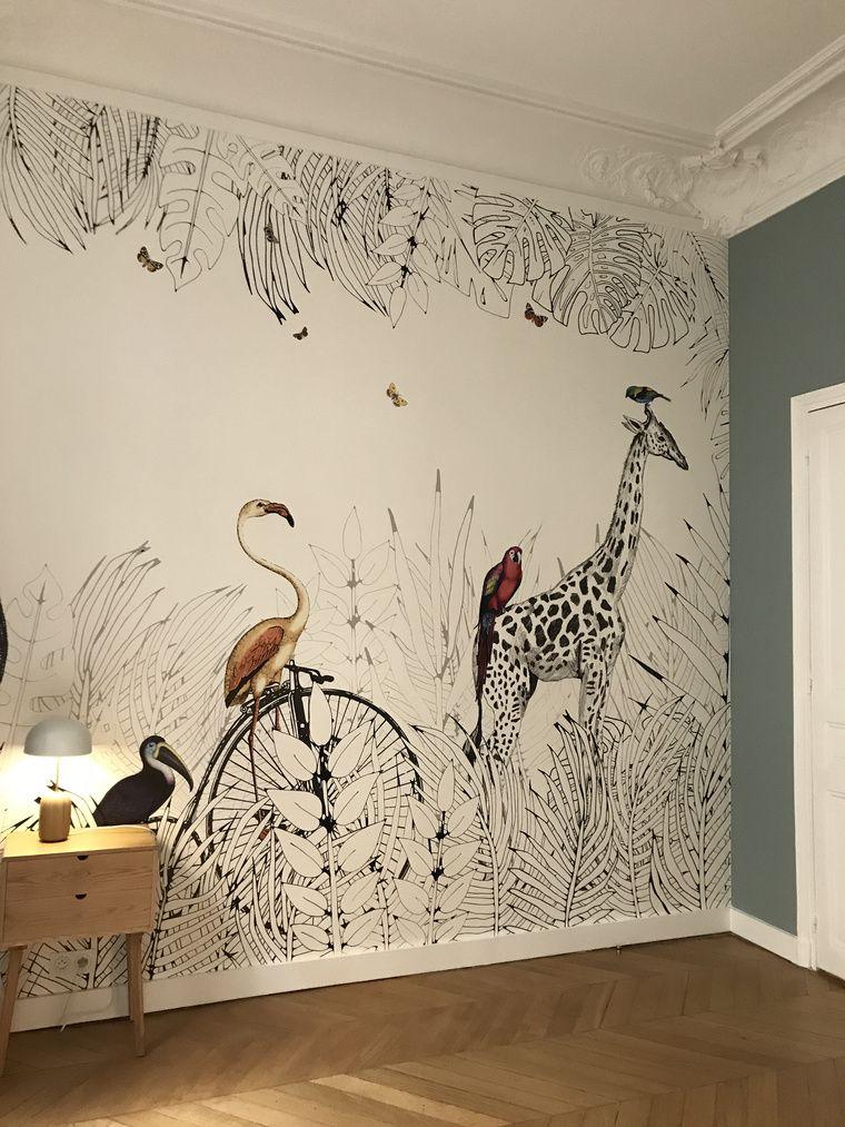 papier peint wallpapers papier peint wallpapers pinterest papier peint peindre et. Black Bedroom Furniture Sets. Home Design Ideas