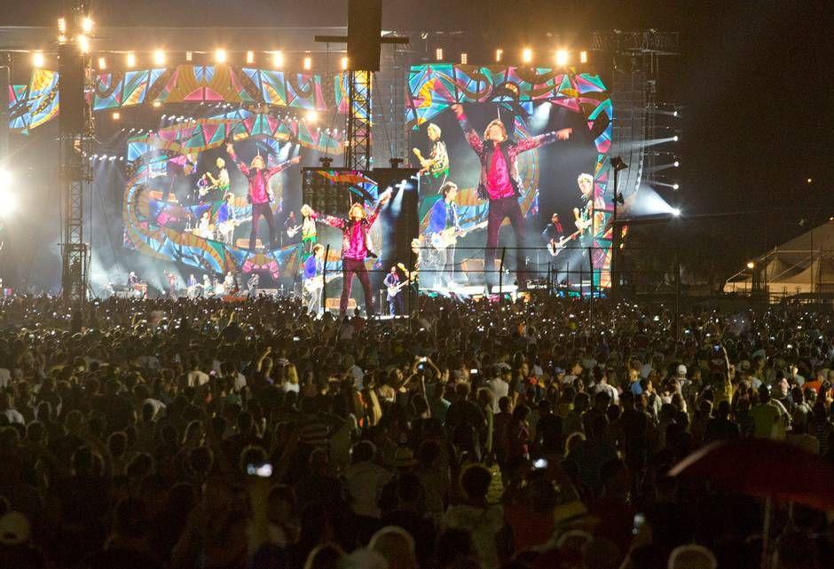 Rolling Stones in Cuba.2016