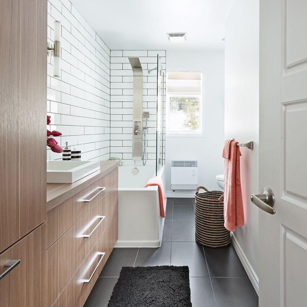 Salle De Bain En Longueur salle de bain tout en longueur | salle de bains en longueur