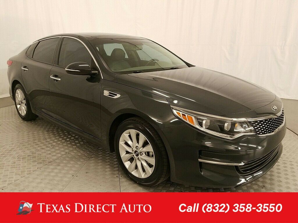Used 2016 Kia Optima Ex Texas Direct Auto 2016 Ex Used 2 4l I4 16v Automatic Fwd Sedan Premium 2020 In 2020 Kia Optima Kia Fwd