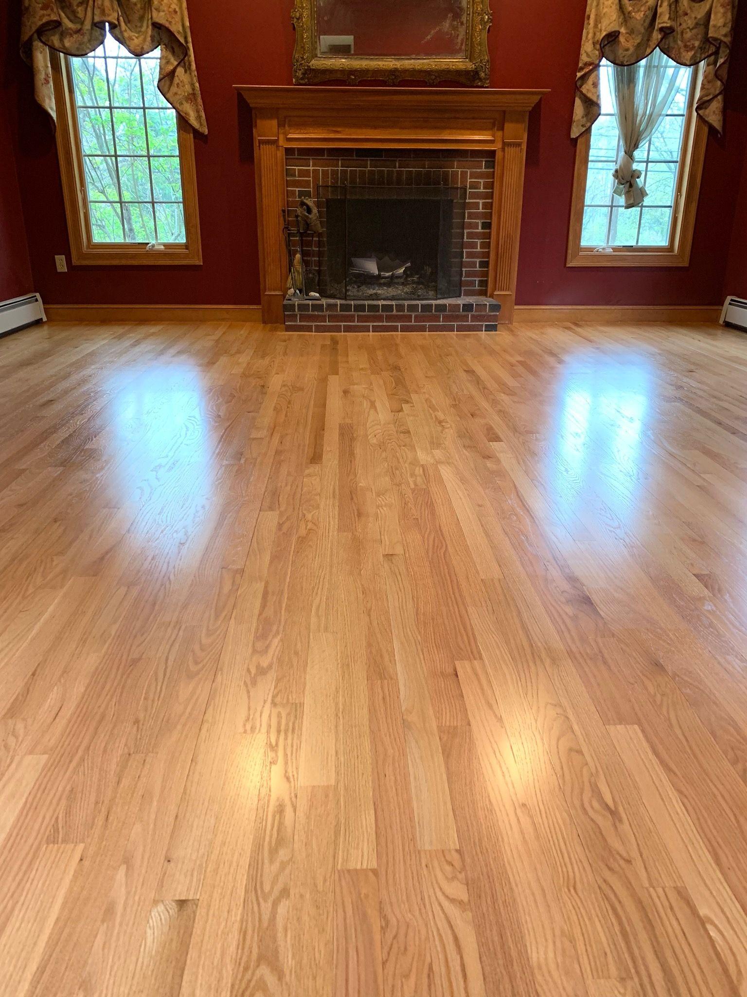 Natural Red Oak Floors