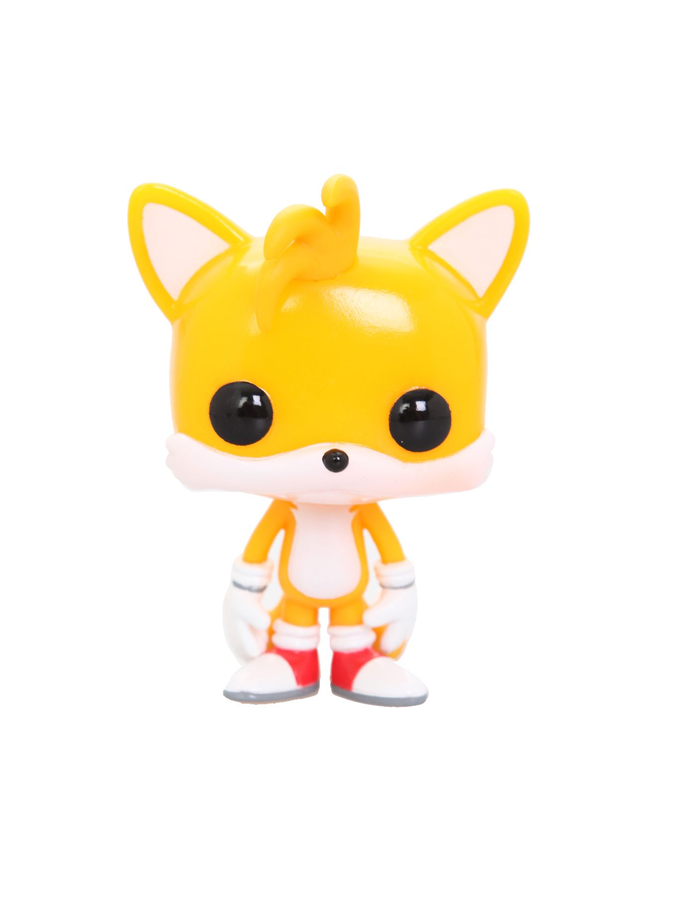 Sonic The Hedgehog Pop Tails Vinyl Figure Hot Topic With Images Vinyl Figures Pop Toys Pop Dolls