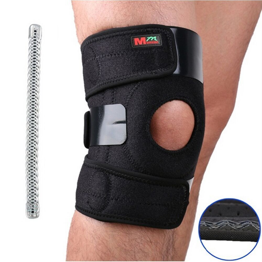 Knee Brace Support Sleeve Wrap Kit Compression Patella Sports Adjustable Copper Kneebrace Knee Support Braces Knee Sleeves Sports Supports