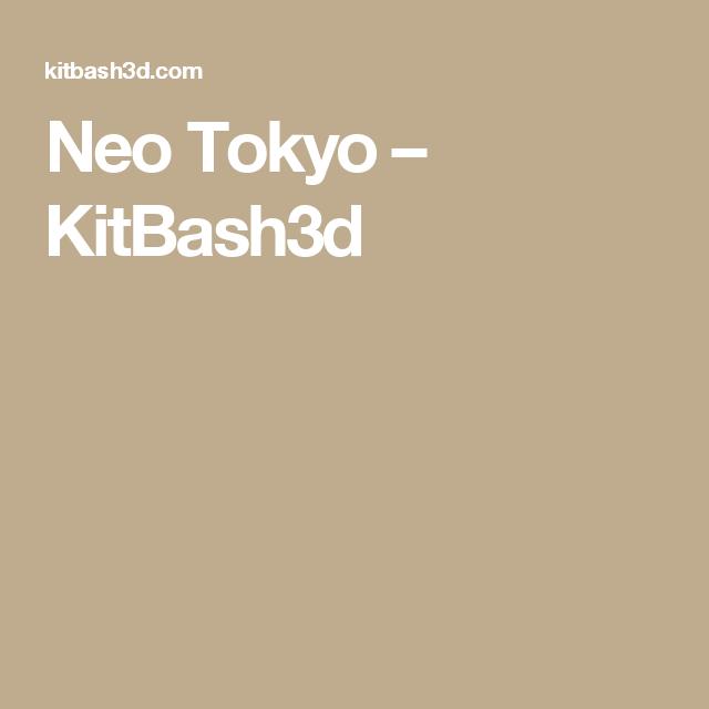 Neo Tokyo   Enivironments_Tools   Neo tokyo, Tokyo, Vertical