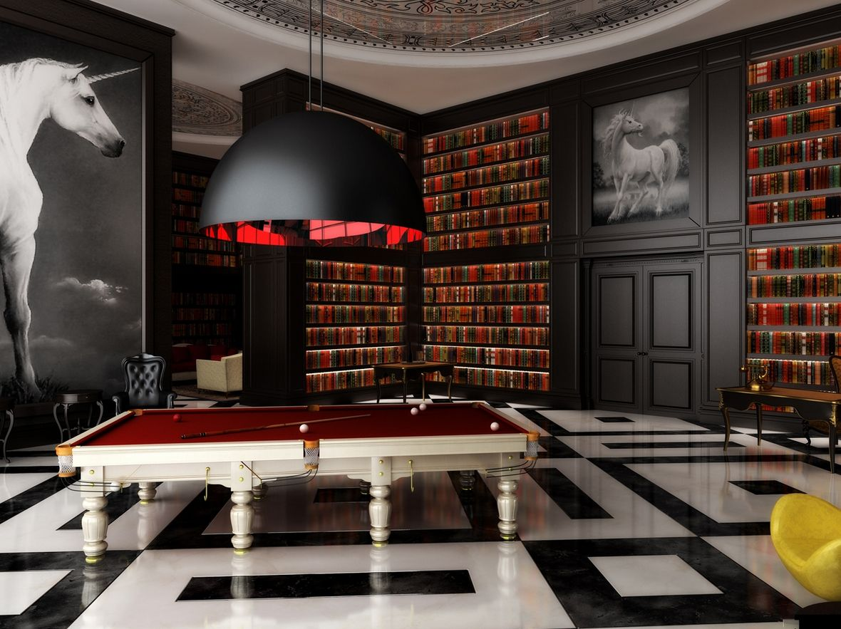 Interior decoration ideas by Philippe Starck   Pinterest