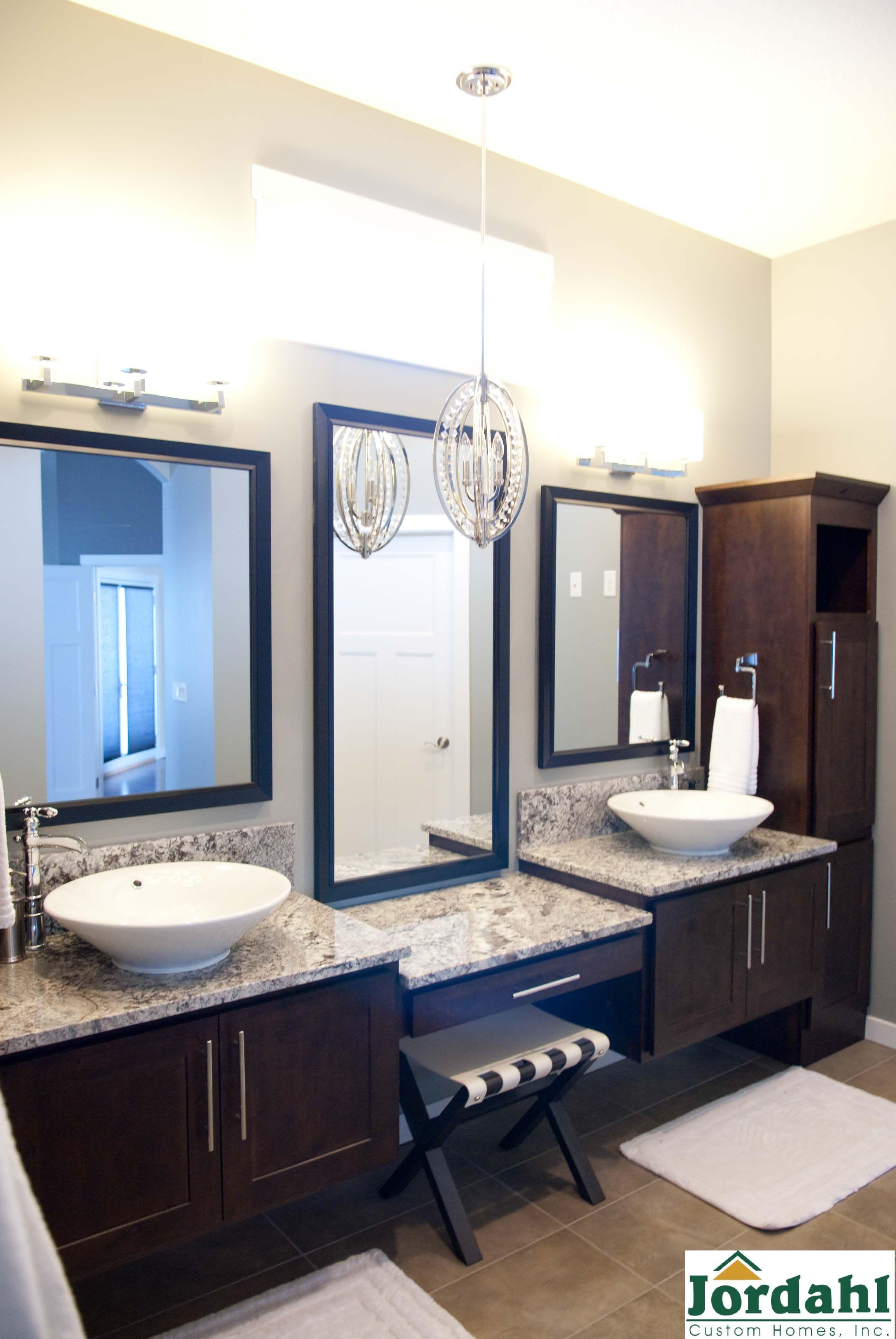 Your Style Your Home Jordahl Custom Homes Bathroom Vanity Designs Master Bathroom Vanity Vanity Design