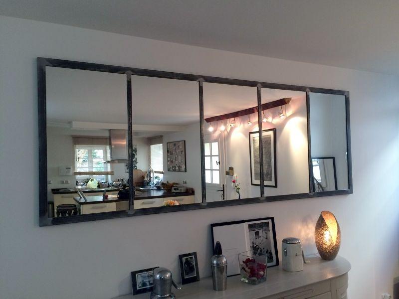 miroir notos 250cm art industriel