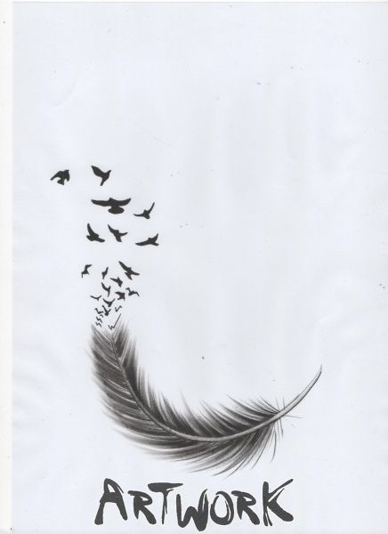 dessin de plume tatouage oiseaux plumes pinterest dessins de plumes dessins de et plumes. Black Bedroom Furniture Sets. Home Design Ideas