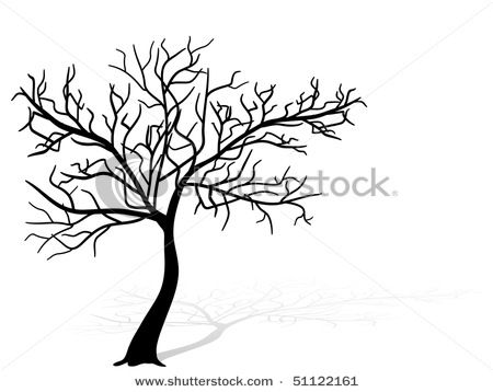 Pin By Ambiguity Ruminate On Trees Tree Silhouette Tree Silhouette Tattoo Blossom Trees