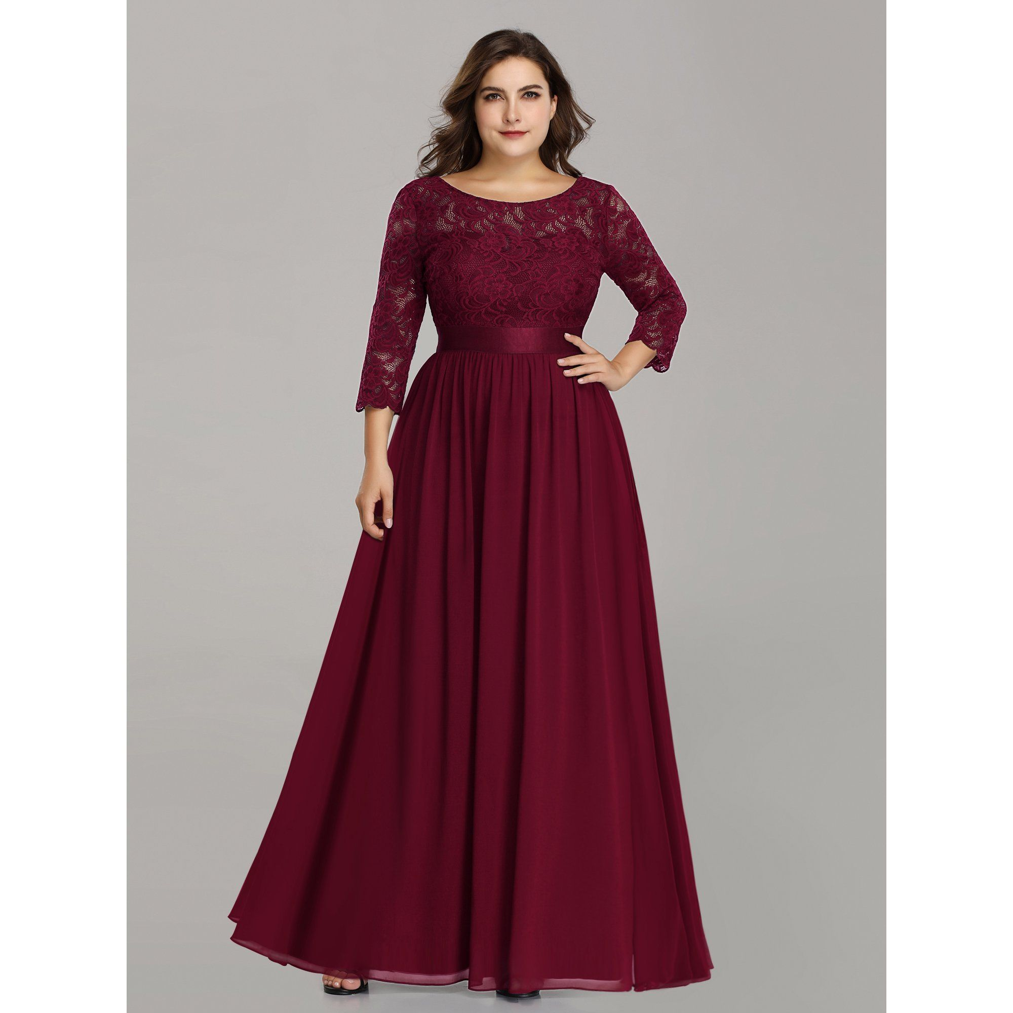 Ever Pretty Ever Pretty Womens Floral Lace Long Sleeve Bridesmaid Dresses For Women 74122 Burgundy Us4 Walmart Com In 2021 Lace Evening Dresses Lace Dress Long Long Sleeve Bridesmaid Dress [ 2000 x 2000 Pixel ]