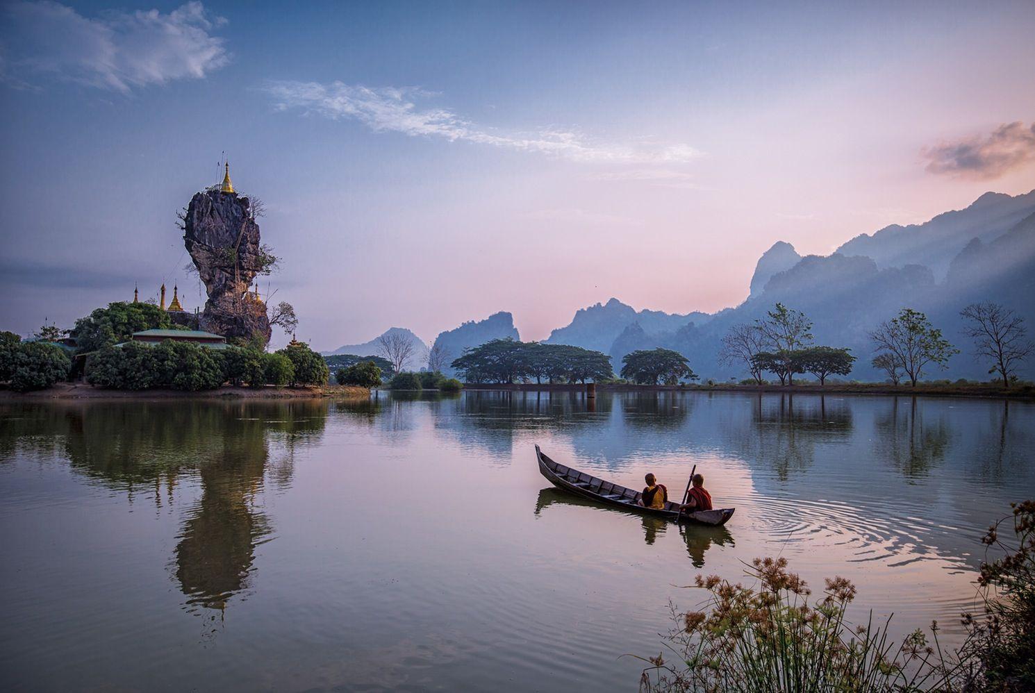 Burma: An Enchanted Spirit · Maptia