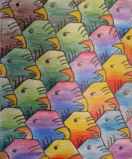 Middle School projects - tessellations
