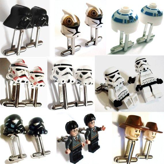 Lego Cufflinks!!