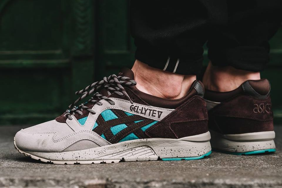 super popular cae2d 4fd90 ASICS Gel Lyte V  Viridian Green   Coffee  (via Kicks-daily.com)