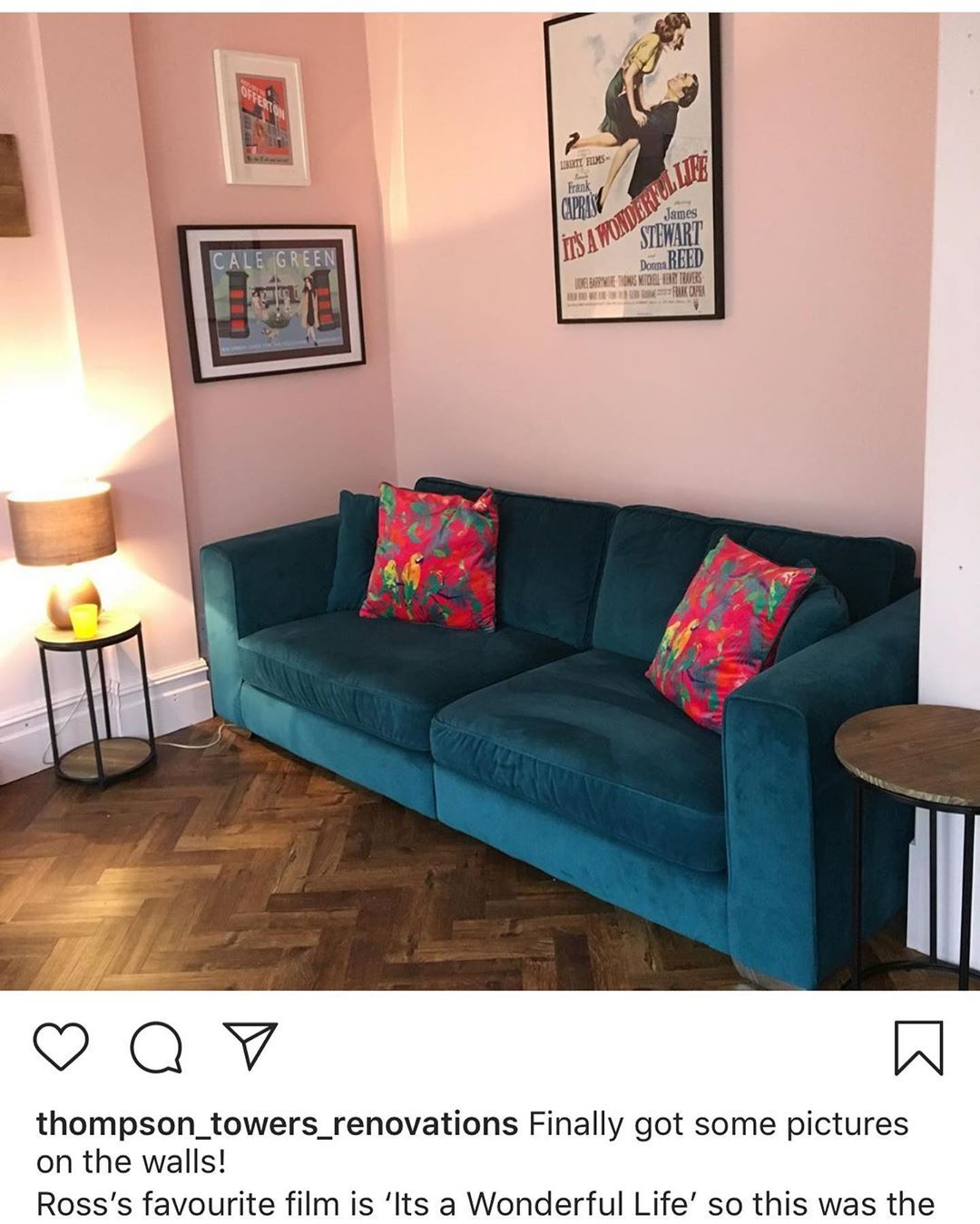 Annalise Reece Interiors On Instagram Customer Photo We Love Receiving Your Styled Photos Teal Living Room Decor Pink Living Room Decor Teal Living Rooms #teal #and #pink #living #room