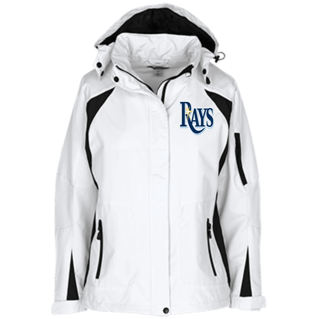 Official Tampa Bay Rays Port Authority Ladies Embroidered Jacket Embroidered Jacket Old School Jackets Jackets