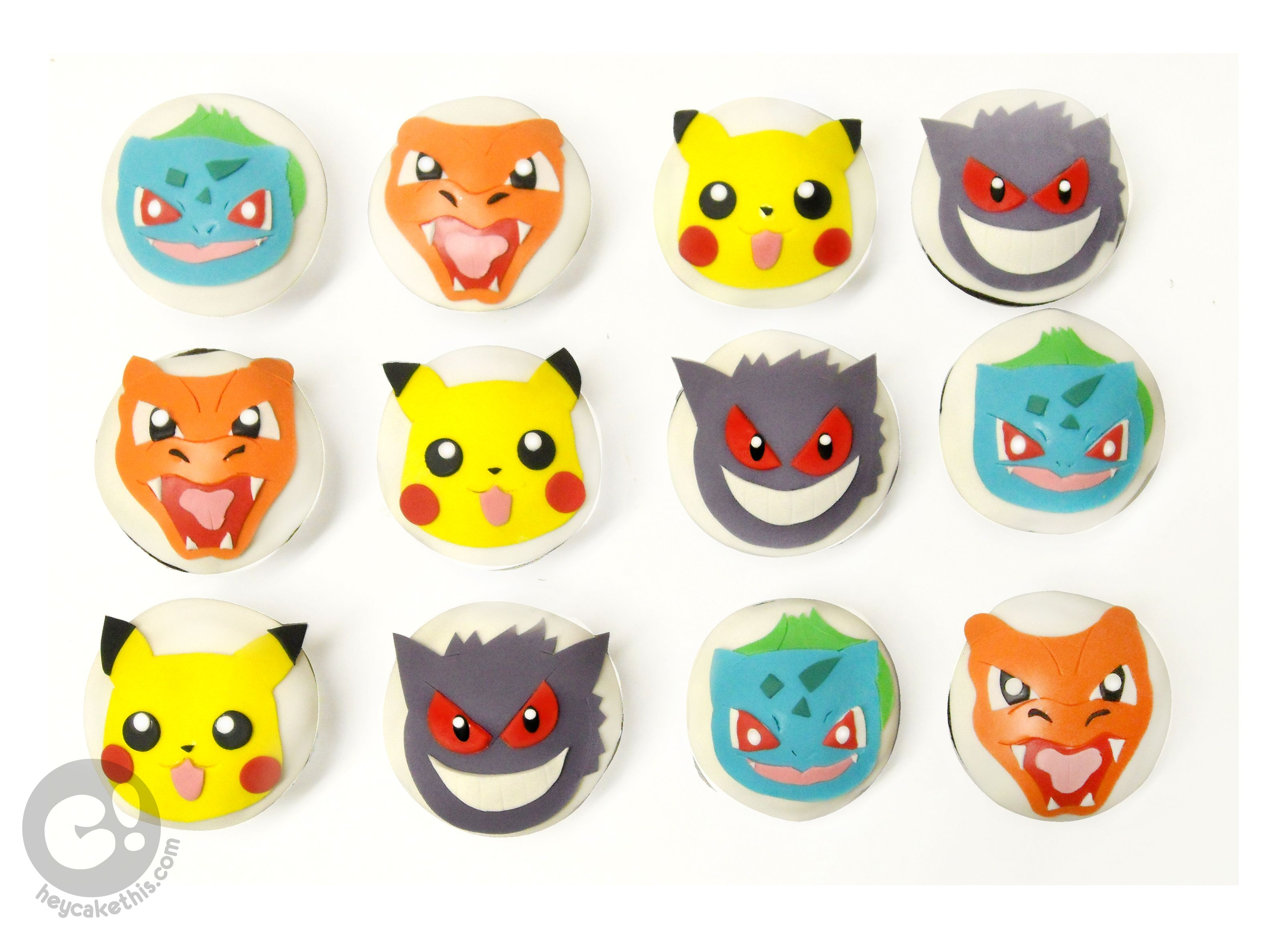 pokemon cupcakes how to make