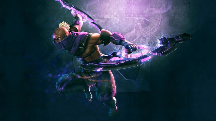 Anti Mage Magina Dota 2 Hero Hd Wallpaper 1366x768 Dota