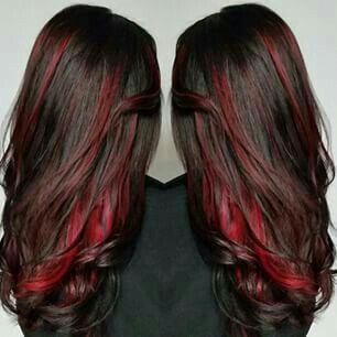 Pin By Lisa Britt On Hair Peekaboo Hair Hair Styles Peekaboo Hair Colors