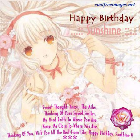 Happy Birthday Comments Facebook Myspace Orkut Graphics Glitters Styles