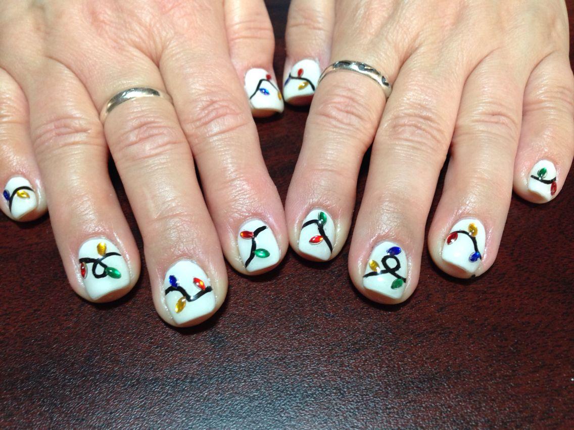 Christmas nails  Carlaus nail designs  Pinterest
