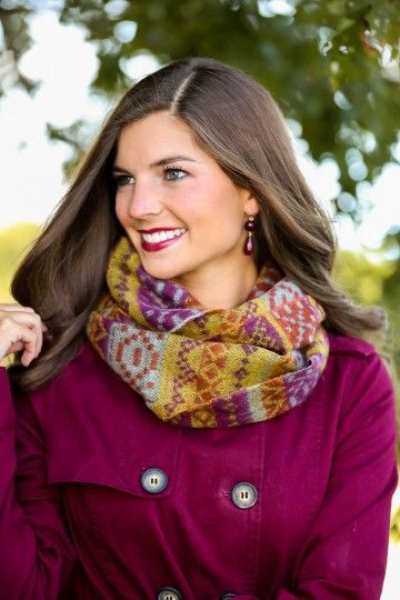 There's No Limit Scarf-Plum