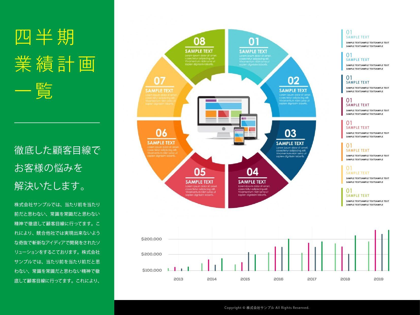 伝わるパワーポイント制作 フリースタイルエンターテイメント パワーポイント スライド デザイン エンターテイメント