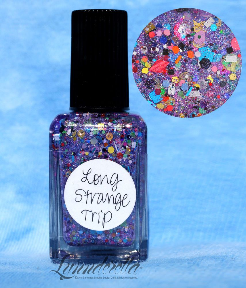 Details About Lynnderella Two Tone Trifle Nail Polish 2013 Limited Edition In 2019 Nail Polish